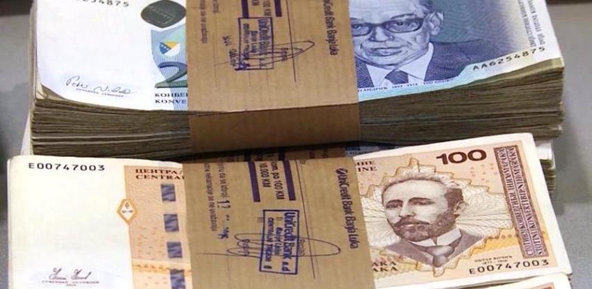Plaća u BiH u decembru 2,5 posto viša nego godinu ranije