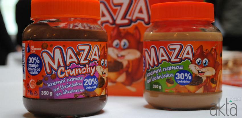 Domaća Maza: Premium krem namaz od lješnjaka dostupan tržištu