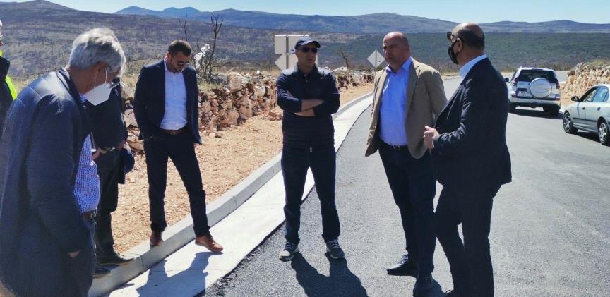 Ministar Lasić obišao gradilišta Južne obilaznice Mostara i dionice Neum – Stolac
