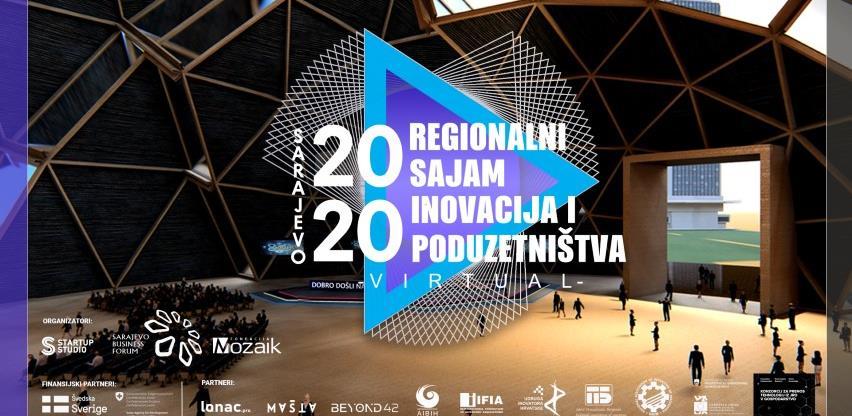 """Regionalni virtualni Sajam inovacija i poduzetništva """"Sarajevo 2020"""" 23. i 24.11"""