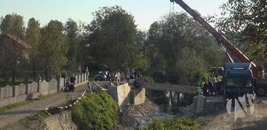 Firma Širbegović donirala betonske elemente za izgradnju mosta u Sprečama
