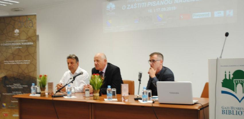 Stručnjaci iz deset država na prvoj konferenciji o zaštiti pisanog naslijeđa