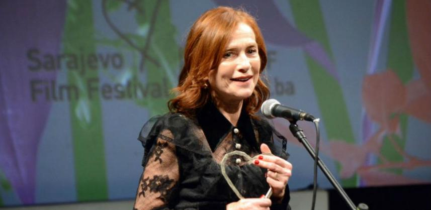 """Francuskoj glumici Huppert uručeno priznanje """"Počasno Srce Sarajeva"""""""