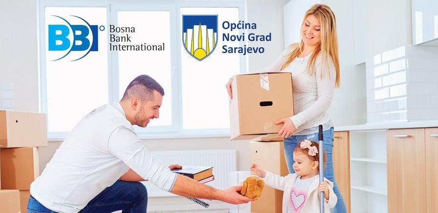 Olakšana kupovina stanova za mlade na području Općine Novi Grad Sarajevo