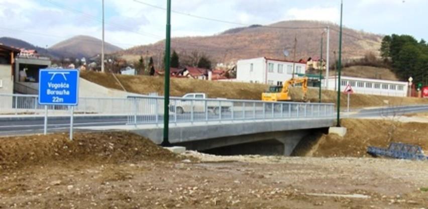 Most u Novoj industrijskoj zoni Vogošća pušten u promet