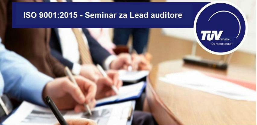 TÜV Croatia d.o.o. TÜV NORD Group: Seminar za Lead auditore IRCA