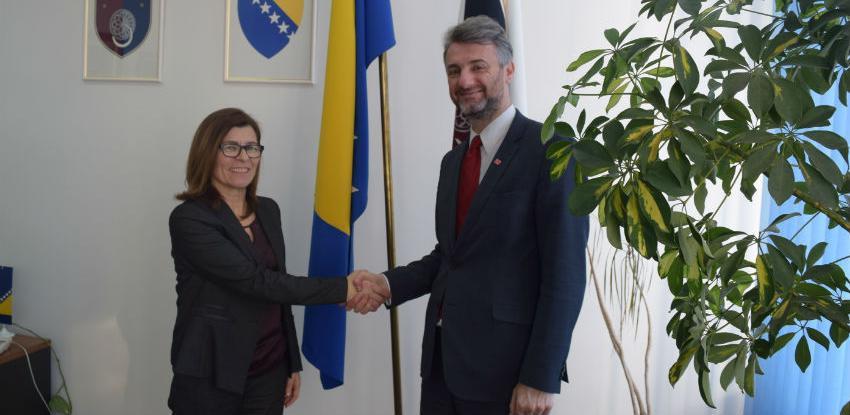 Mnogo prostora za unapređenje saradnje BiH i Slovenije