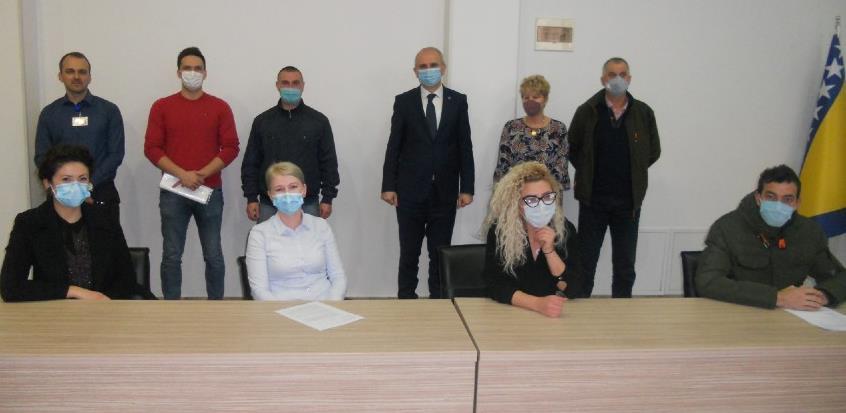 Općina Tešanj podržala šest mladih poduzetnika