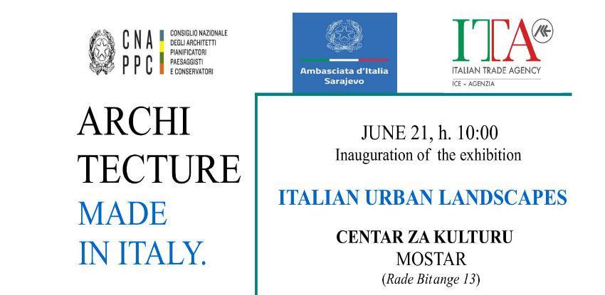 """U Centru za kulturu Mostar bit će otvorena izložba """"Italian Urban Landscapes"""""""