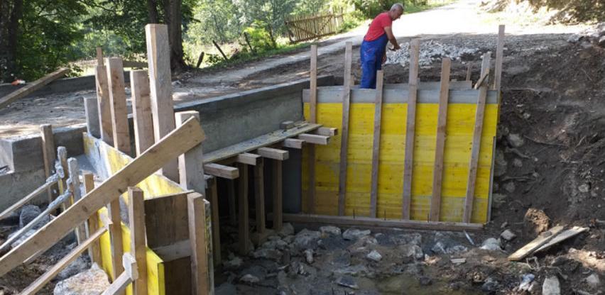 """Završen most koji vodi do Hidrocentrale """"Gornji Zalukovik"""""""