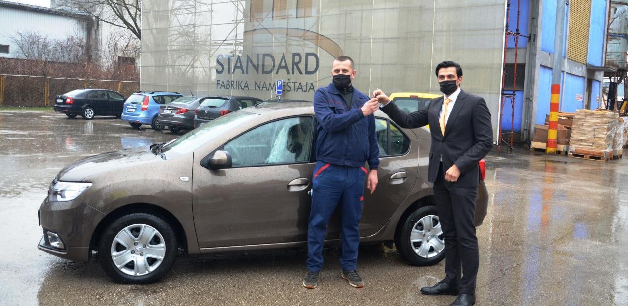 """Briga o zaposlenima: """"Standard"""" iz Prnjavora dodijelio automobil najboljem radniku"""