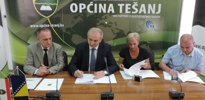 Nastavak gradnje četiri školske sale na području općine Tešanj
