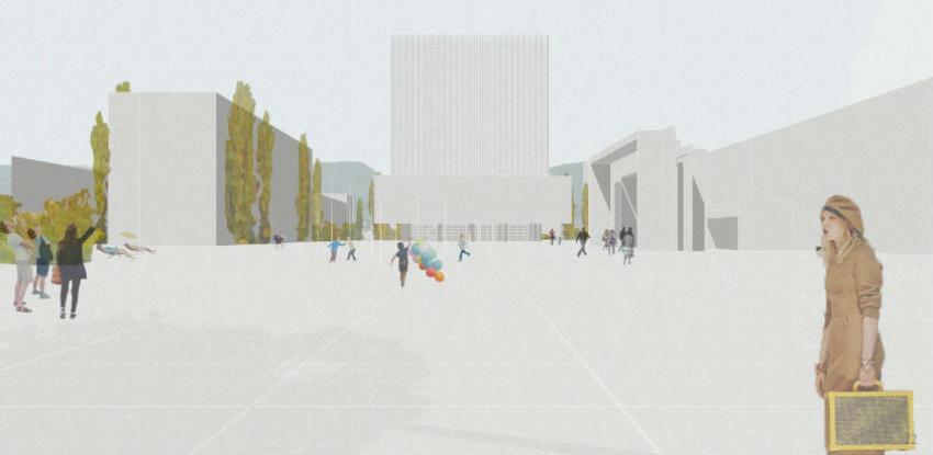Odabrano idejno rješenje za zeničku Vijećnicu i gradski trg