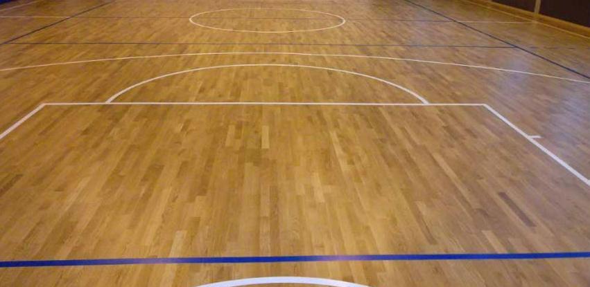 Livno: U sportskoj dvorani na Zgonima postavljen novi parket