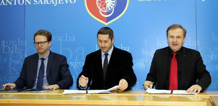 BBI depozitna, a Union, transakcijska banka Kantona Sarajevo