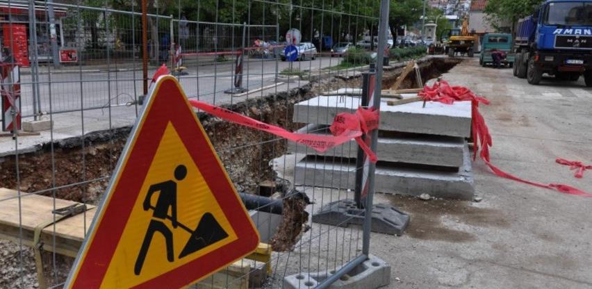 Radovi na rekonstrukciji vrha mostarske Avenije počinju u četvrtak
