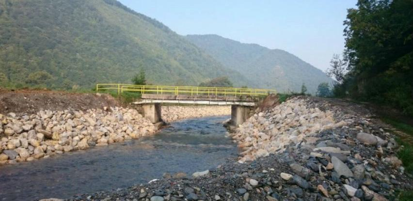 Završena regulacija korita rijeke Vrbas u gornjovakufskom naselju Boljkovac
