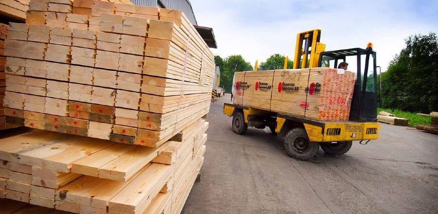 Izvoz drvnog sektora BiH u prvih šest mjeseci manji za 13,1 odsto