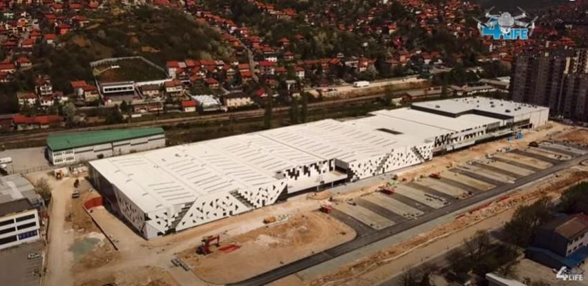 Pri kraju radovi na izgradnji novog Bingo tržnog centra u Sarajevu (Foto/Video)