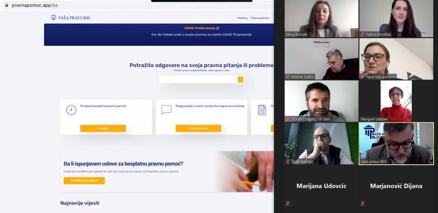 Aplikacija za pravnu pomoć Covid-19 stavljena u funkciju: Vaša prava u vašim rukama