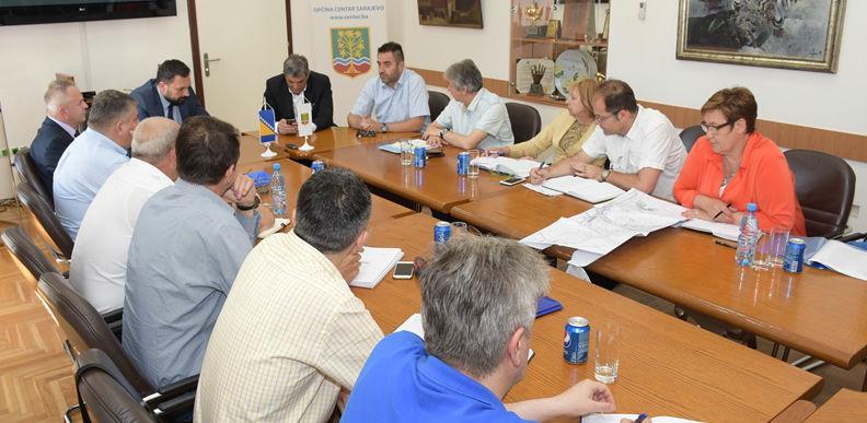 Izgradnja kružnih tokova u Centru i Vogošći prioritet za finansiranje