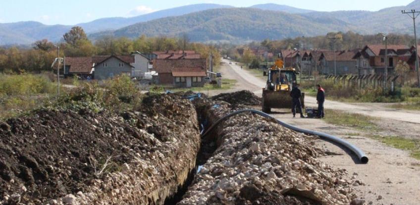 Izgradnja vodovodne mreže u poslovnoj zoni Ciljuge II privodi se kraju
