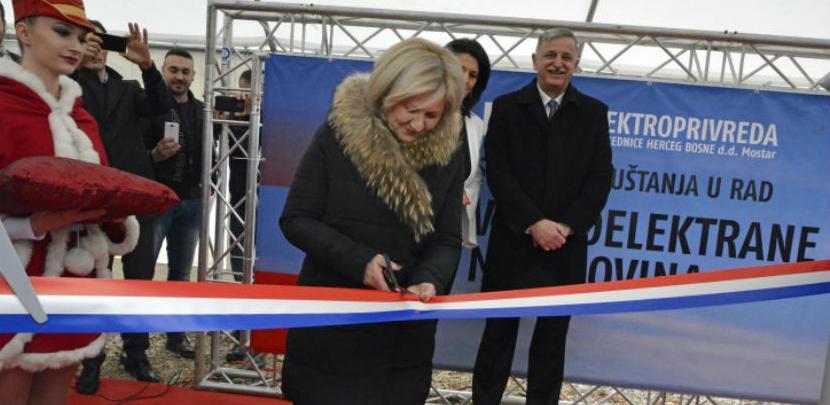 Puštena u rad prva vjetroelektrana u BiH
