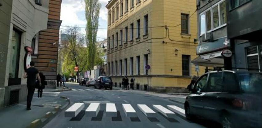 Grad Sarajevo planira realizacija testnog primjera 3D pješačkog prelaza
