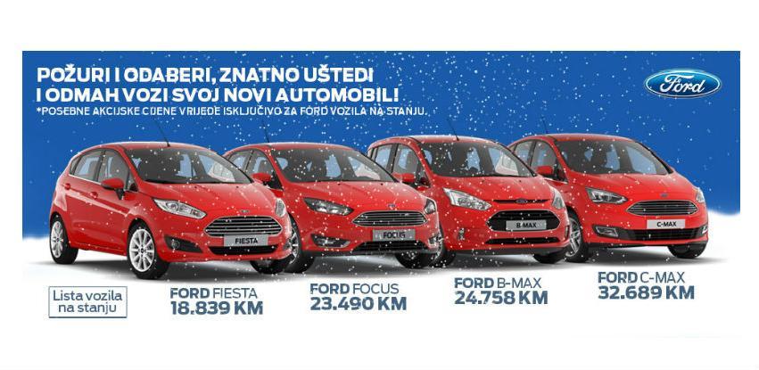 Požurite, odaberite, uštedite i odmah preuzmite vaš novi Ford automobil!