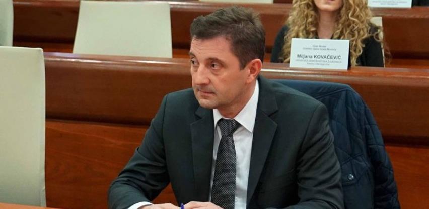 Mario Kordić je novi gradonačelnik Mostara