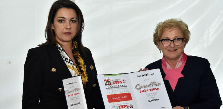 "AS Holdingu grand prix na 25. generalnom BH sajmu ""ZEPS"" u Zenici"