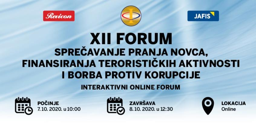 XII Revicon forum o sprečavanju pranja novca