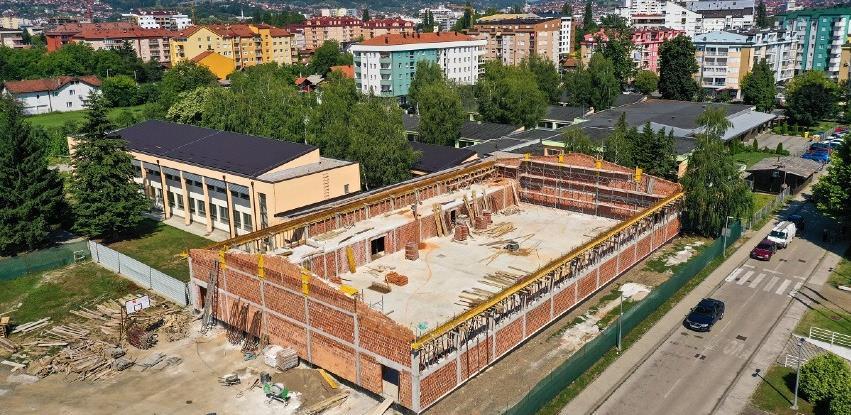 Starčevica: Nova sportska dvorana biće završena na jesen