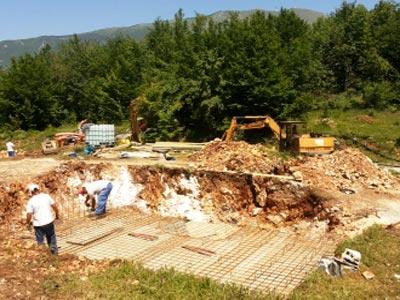 Počeli radovi na izgradnji vodovodne mreže Tilava-Klek