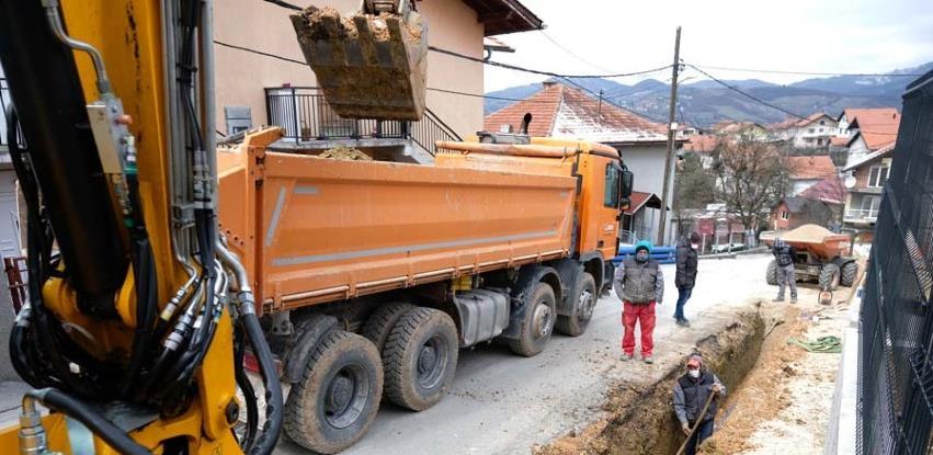 Izgradnja vodovodne i separatne kanalizacione mreže u Naselju heroja Sokolje