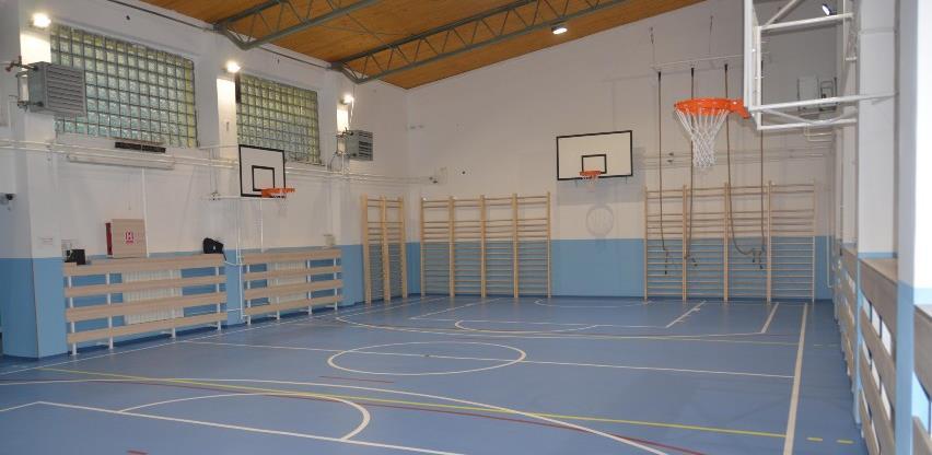 Završeni radovi na adaptaciji sala za tjelesni odgoj u novosarajevskim školama