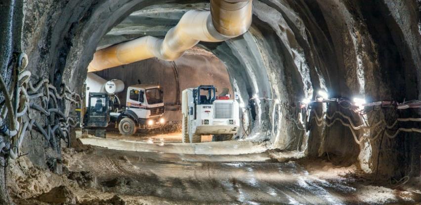 Probijanje tunela za HE Dabar nastavljeno i tokom vanrednog stanja