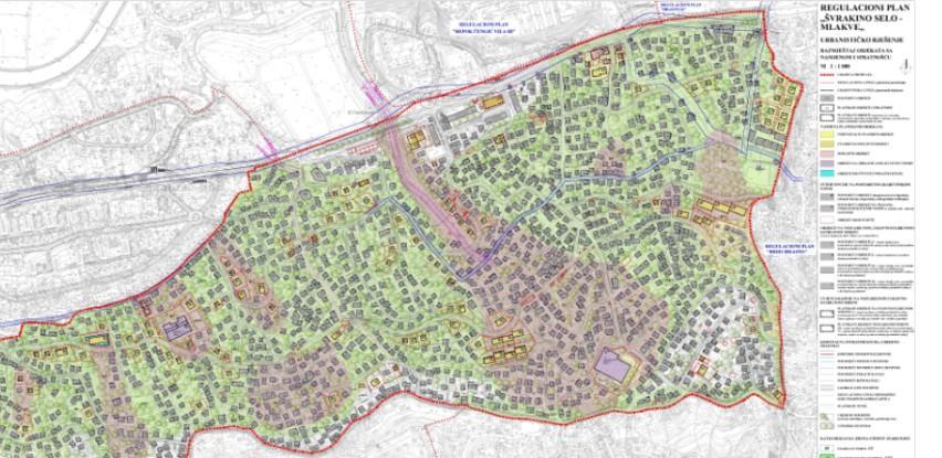 Donijeta odluka o provođenju Regulacionog plana Švrakino Selo – Mlakve
