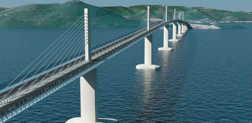 Grčka firma gradi pristupne ceste Pelješkom mostu: Bh. firme izbačene iz igre