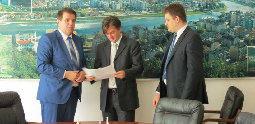 Počinje izgradnja stambenih jedinica i buduće zgrade univerziteta u Goraždu