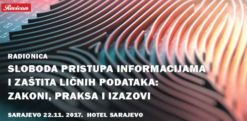 Sloboda pristupa informacijama i zaštita ličnih podataka