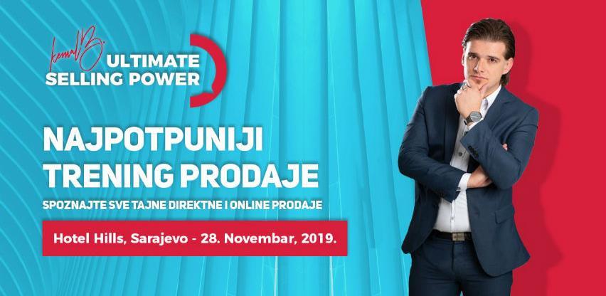Prijave za najpotpuniji trening prodaje u BiH dostupne još 6 dana