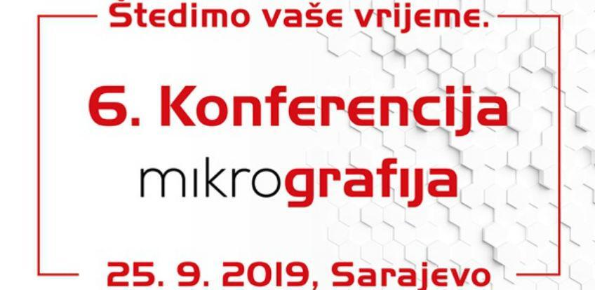 6. Mikrografija konferencija, 25. septembra 2019. u Sarajevu