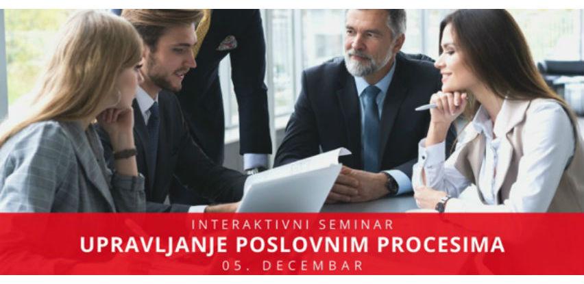 Seminar: Upravljanje poslovnim procesima