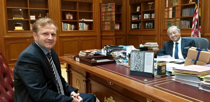 Premijer Mahathir najavio je dolazak na SBF