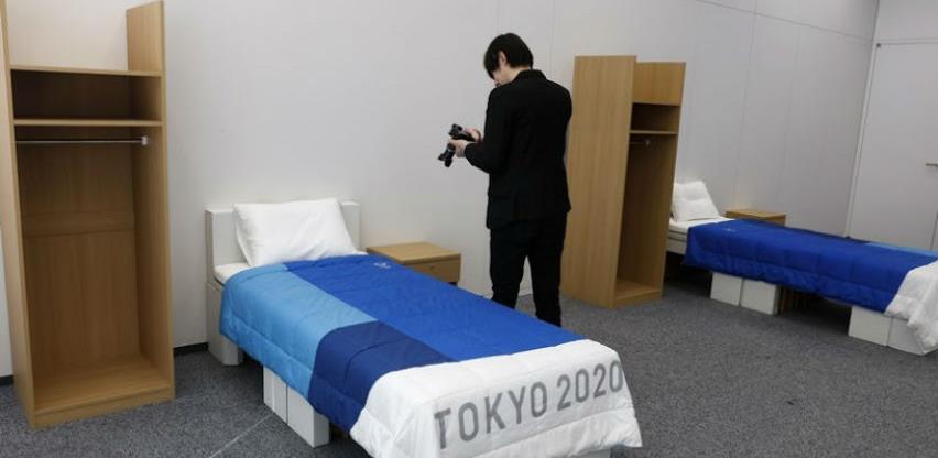 Olimpijci će spavati na krevetima od recikliranog kartona