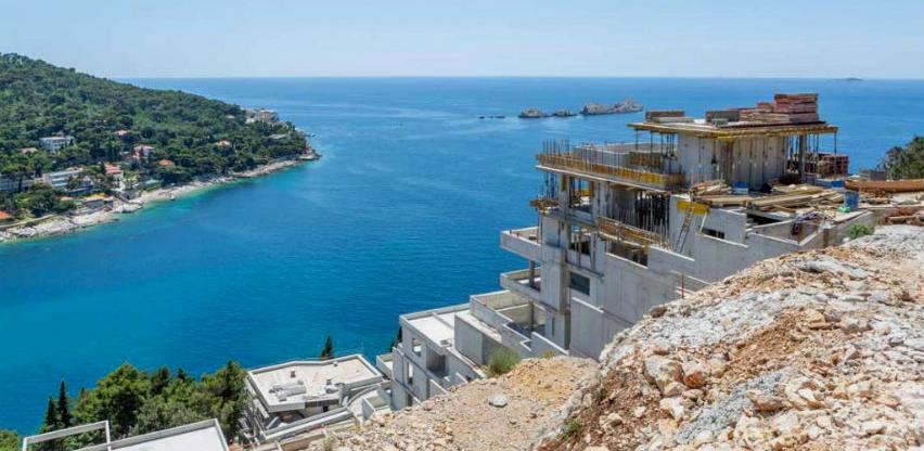 """Radovi napreduju: U Dubrovniku """"niču"""" Spahićevi luksuzni stanovi"""