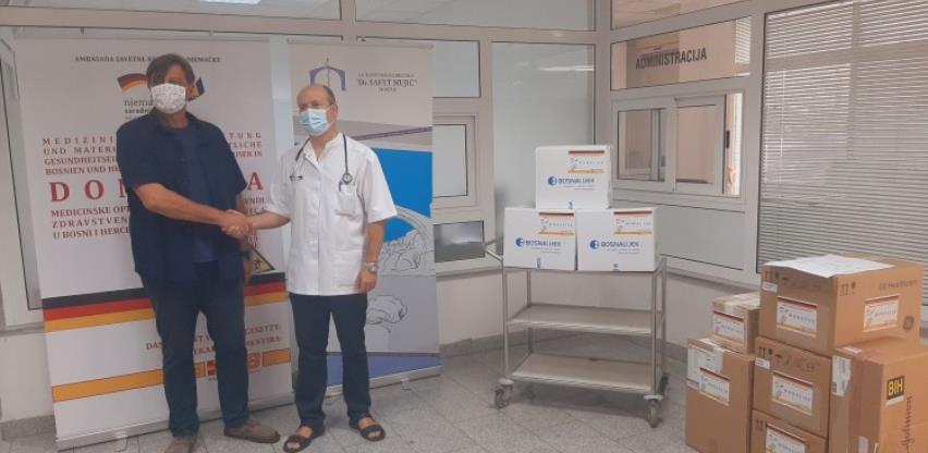 Bolnici 'Dr. Safet Mujić' uručena zaštitna oprema vrijedna oko 22 tisuće KM