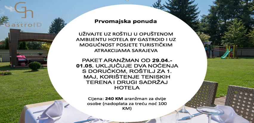 Uživajte za 1. maj uz roštilj u opuštenom ambijentu Hotela by Gastroid