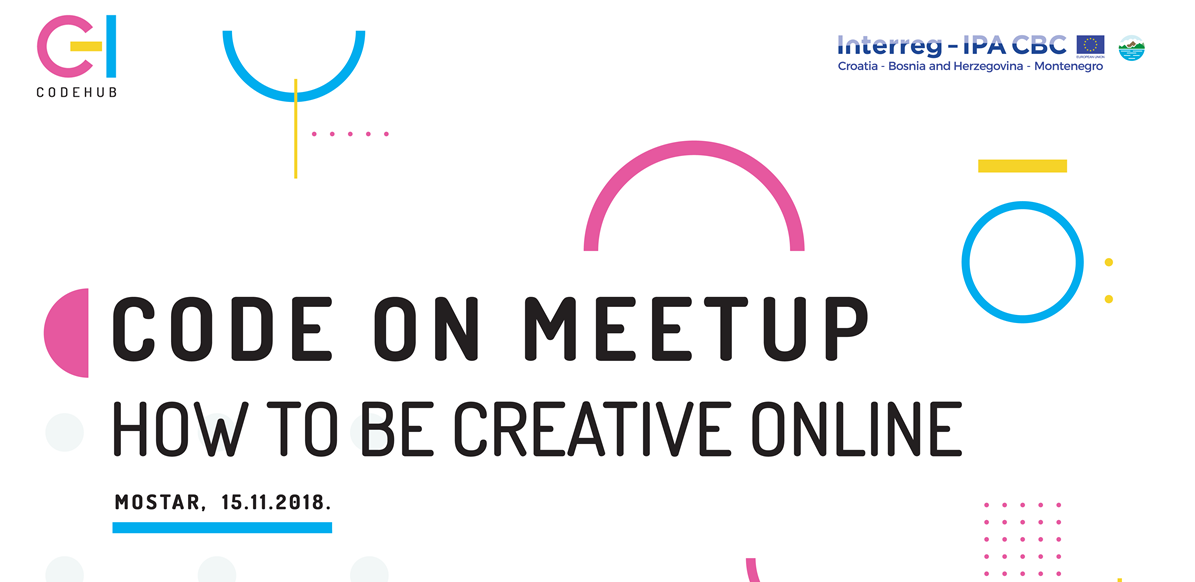 Otvorene prijave za Code On Meetup Vol. 6: How to be creative online